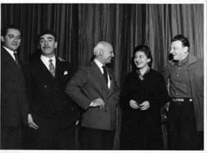 1952/53 Macbeth Gino Penno, Enzo Mascherini, Callas, Italo Tajo Foto Piccagliani