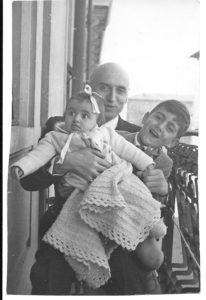 Victor de Sabata con i figli