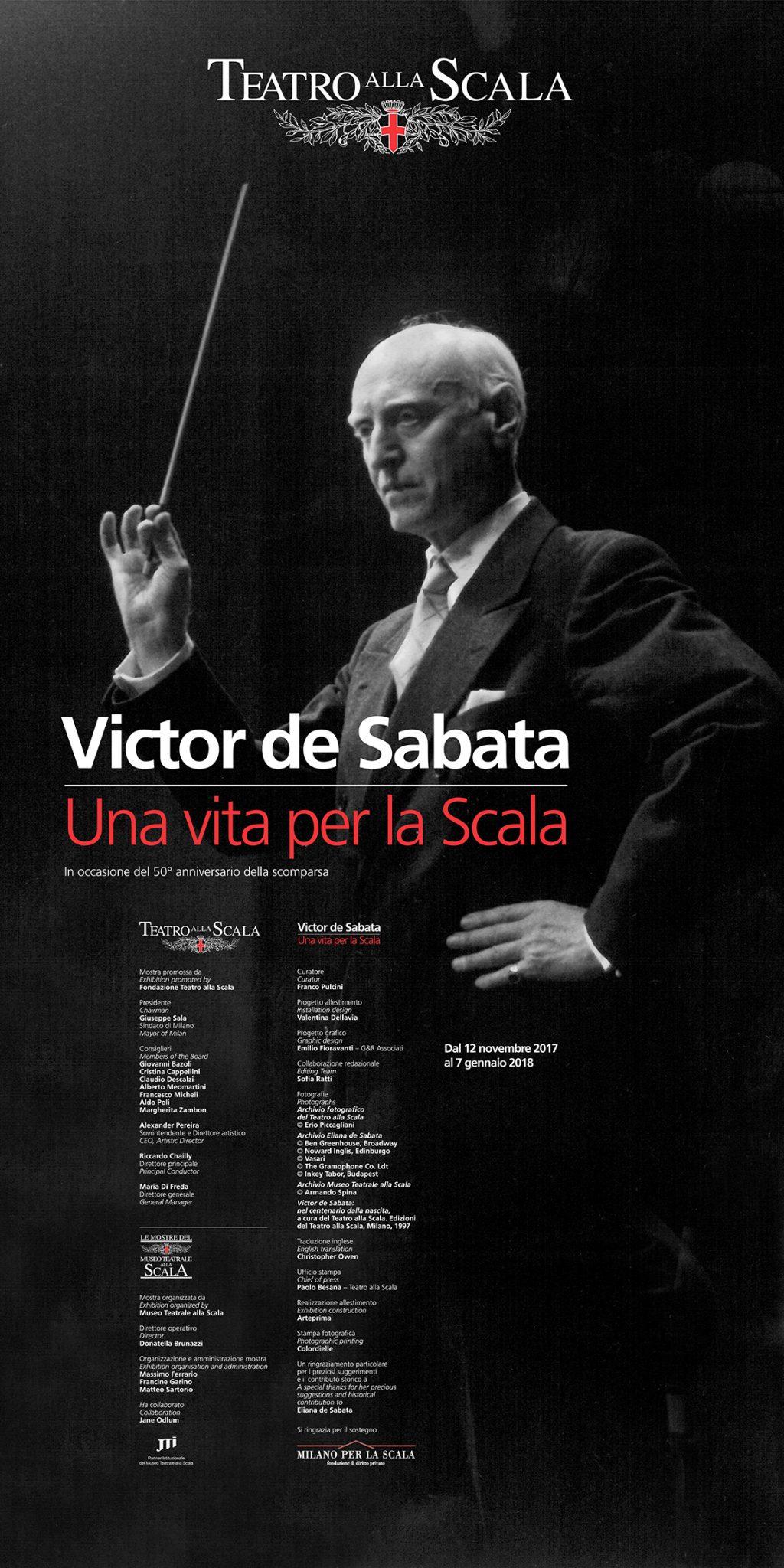 Victor de Sabata: Una vita per la scala