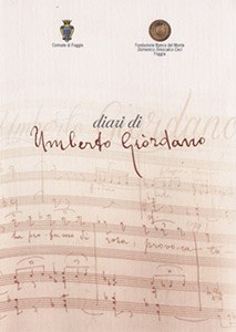 Diari di Umberto Giordano